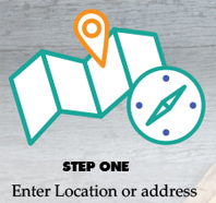 Step 1 Enter your location address.